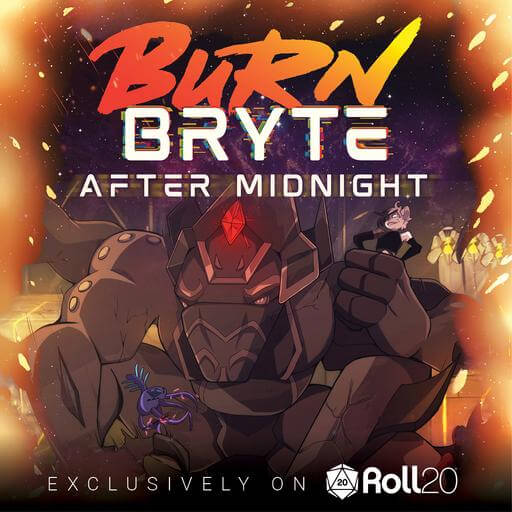 Cover Image of Burn Bryte After Midnight