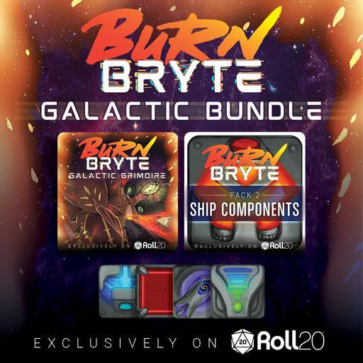 Cover Image of Burn Bryte Galactic Grimoire